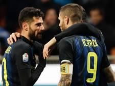 Candreva schiet Inter naar kwartfinale Coppa Italia