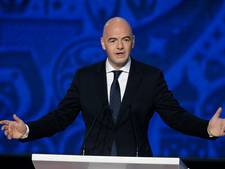 'Infantino denkt bij WK 2026 aan 16 groepen van 3 landen'
