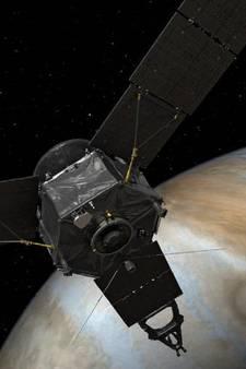 Ruimteverkenner nog nooit eerder zo dicht bij Jupiter