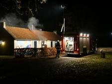 Brand in toiletgebouw op De Groene Heuvels in Ewijk