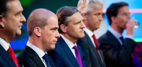 Peiling: volgend kabinet sowieso met VVD, CDA en D66
