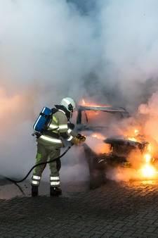 Nachtelijk autobranden in Baarn en Bunschoten-Spakenburg