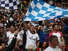 Boete vechtende Preston-spelers naar fans