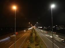 Snelweg A2 baadt straks in 't ledlicht