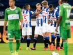 Invaller Larsson bezorgt Heerenveen eerste zege