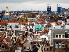 Kwart stijging landelijke huizenprijzen door Amsterdam