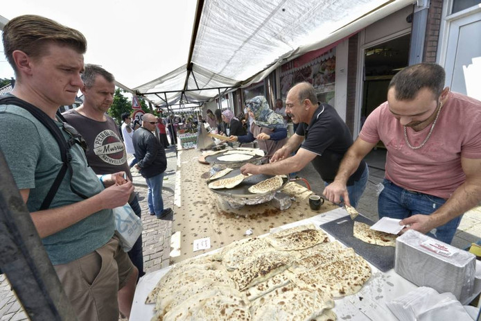 Wijkdag in het Willemskwartier zondag. foto Flip Franssen