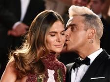 Robbie Williams poedelnaakt op Instagram van vrouw