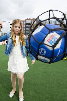 Prinses Alexia viert 11de verjaardag