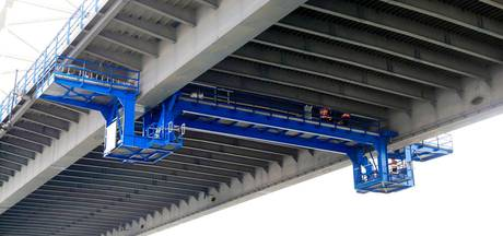 Pleister op 'gewonde' brug