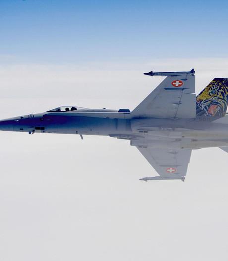 Straaljager Zwitserse luchtmacht spoorloos