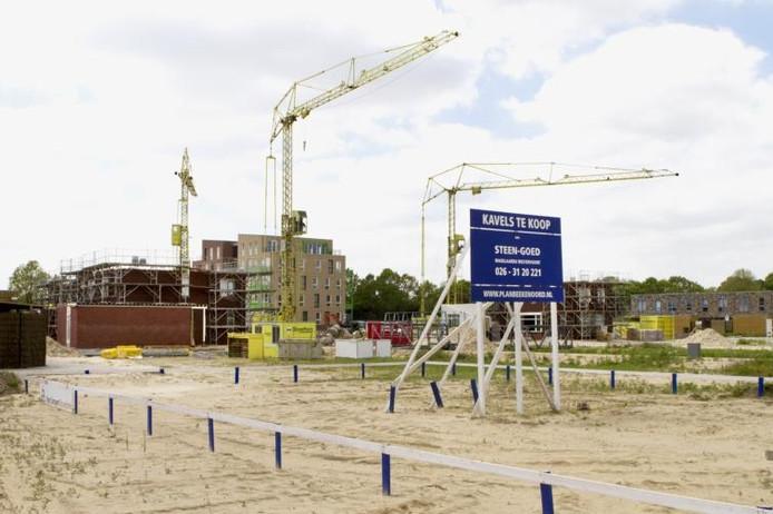De wijk Beekenoord waar vorig jaar een aantal woningen bij zijn gekomen. foto Henk Rodrigo