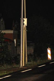 Lantaarnpaal voor flitser N207 bij Boskoop was foutje