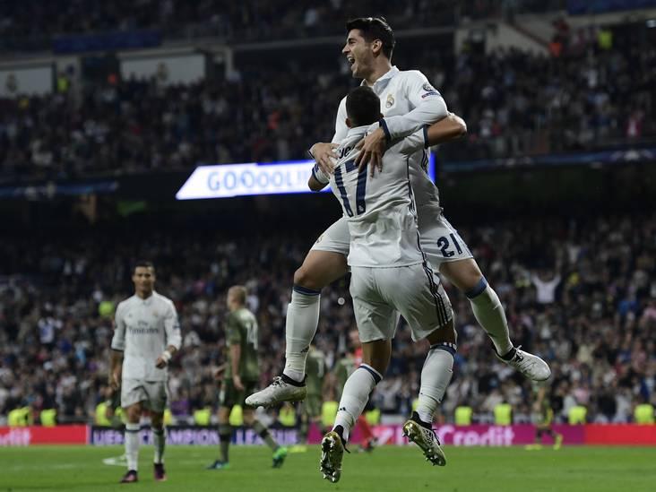 VIDEO: Jarige Morata schiet Real Madrid naar koppositie