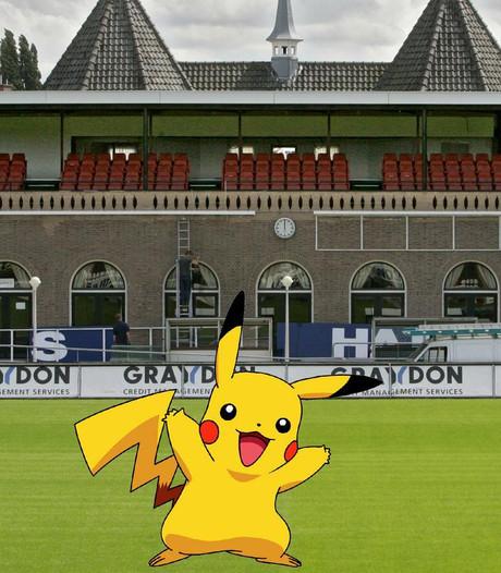 Pokémon Go spelen in het Kasteel