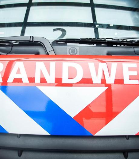 Autobrand op de Reigerskamp in Maarssen