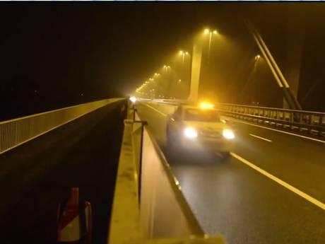 Het is zover: verkeer mag over twee keer drie rijbanen op Tacitusbrug