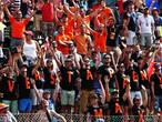 Oranje-fans nemen 'Grand Prix van Nederland' over