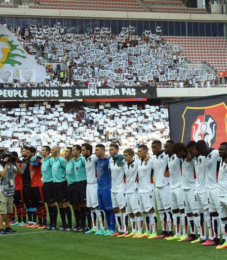 OGC Nice haalt 121.500 euro op voor slachtoffers aanslag