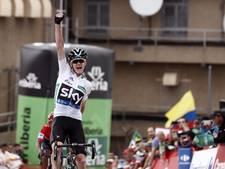 Froome vindt vorm terug in Vuelta