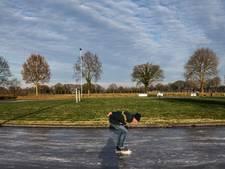 Eerste marathon op natuurijs in Noordlaren