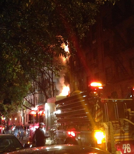 Merel (26) is alles kwijt na brand in New York: Een nachtmerrie