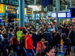 Chaos op het spoor houdt nog tot middernacht aan