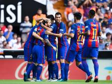 Messi schiet Barça in laatste seconde naar overwinning