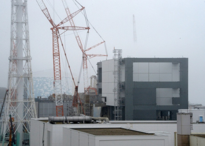 De Fukushima-centrale, mei dit jaar.