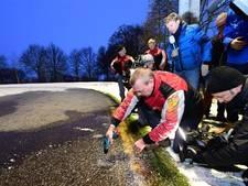 Marathon op natuurijs wordt morgen geschaatst in Noordlaren