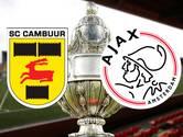 LIVE: Cambuur hoopt op stunt tegen tweede keus Ajax