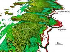 Reusachtig rif ontdekt achter Great Barrier Reef