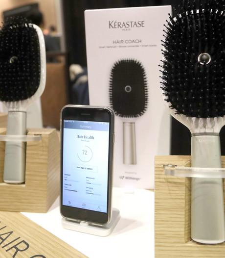 Slimme haarborstels en douchekoppen op technologiebeurs CES