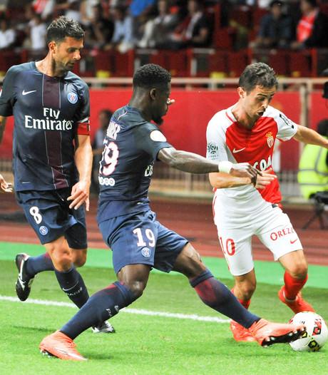 Paris Saint-Germain onderuit in Monaco