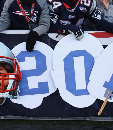 Tom Brady pakt overwinningenrecord in NFL