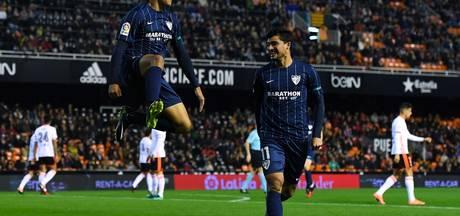 Valencia geeft zege in 93ste minuut uit handen