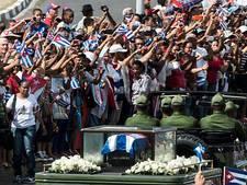 Fidel Castro's as bereikt geboorteplaats revolutie