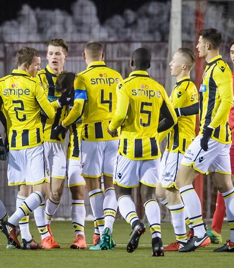 Ruime zege Jong Vitesse bij Twente