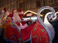 Maastricht verwelkomt de Kerstman net zo groots als de Sint