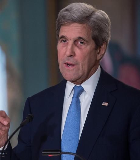 Overleg Lavrov en Kerry over Syrië