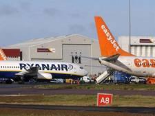 Touroperators charteren Ryanair en Easyjet voor zomer