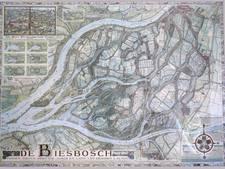 Museum drukt historische kaart van de Biesbosch
