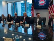 Trump nodigt heel Silicon Valley uit, behalve Twitter