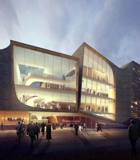 Vertraging bouw theater Den Bosch om kosten te drukken