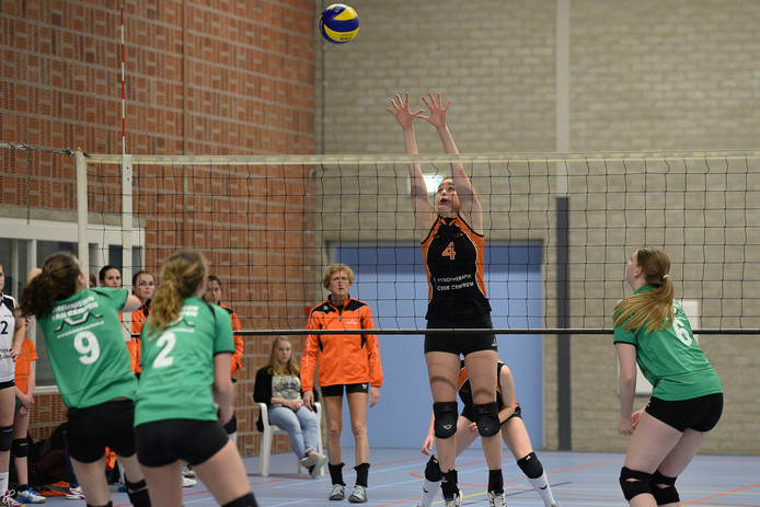 Archieffoto volleybalteam Argos.