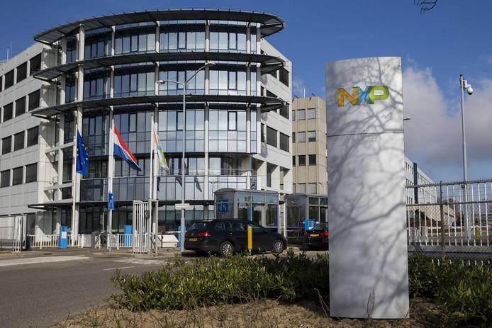 De fabriek van NXP in Nijmegen.