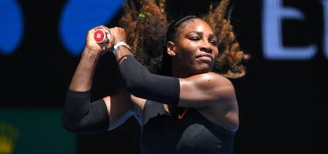 Serena Williams door naar kwartfinales Australian Open