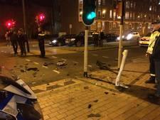 Video | Gewonde bij aanrijding centrum Apeldoorn