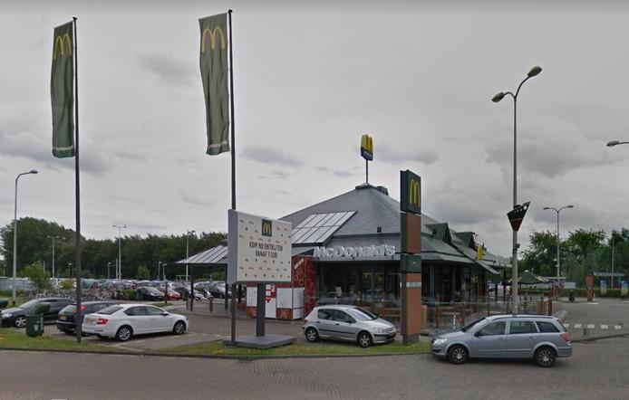 De McDonald's aan de Stadionweg.