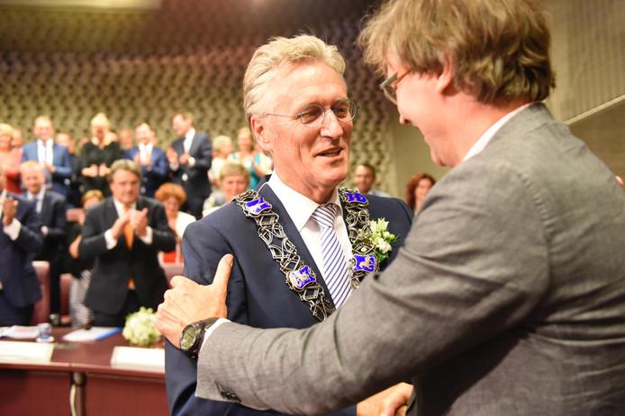 John Jorritsma wordt beëdigd in Eindhoven